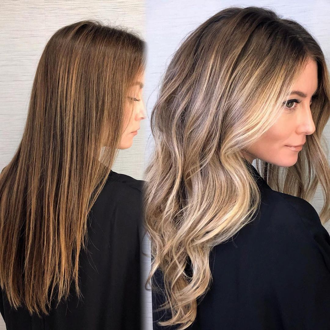 Dimensional Balayage with Money Pieces