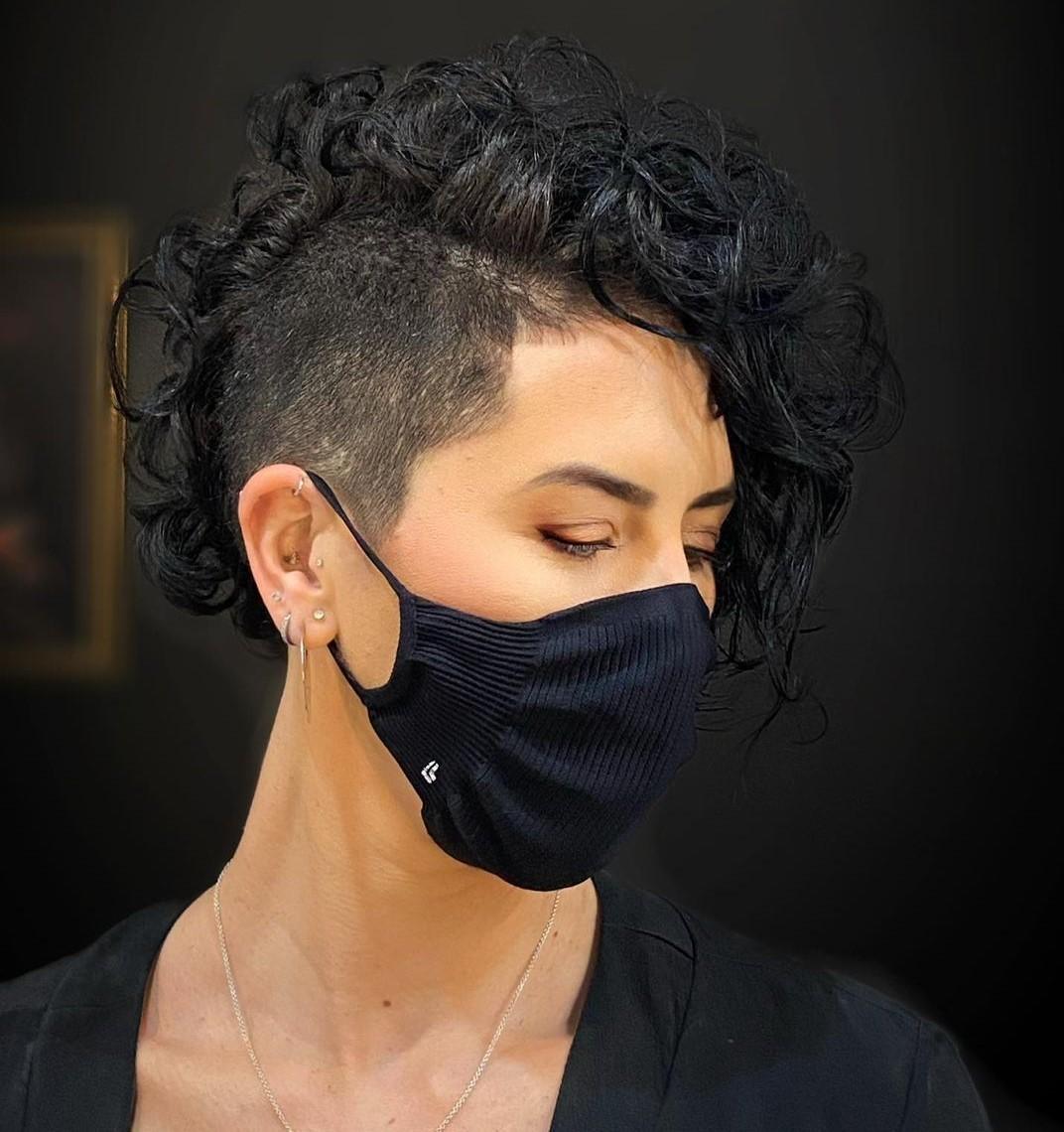 Side Undercut Hairstyle for Women