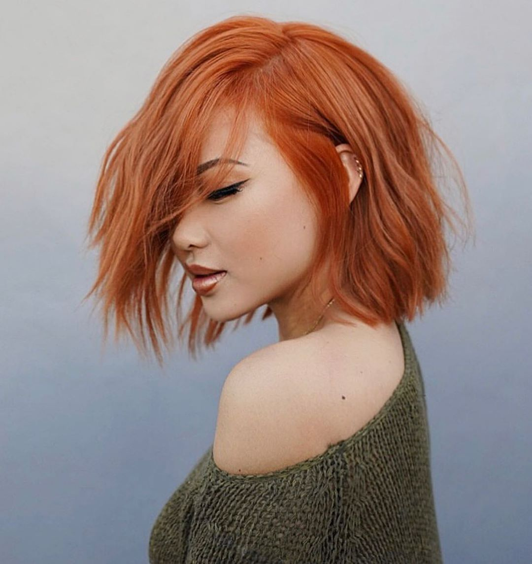 Best Red Fall Hair Colors