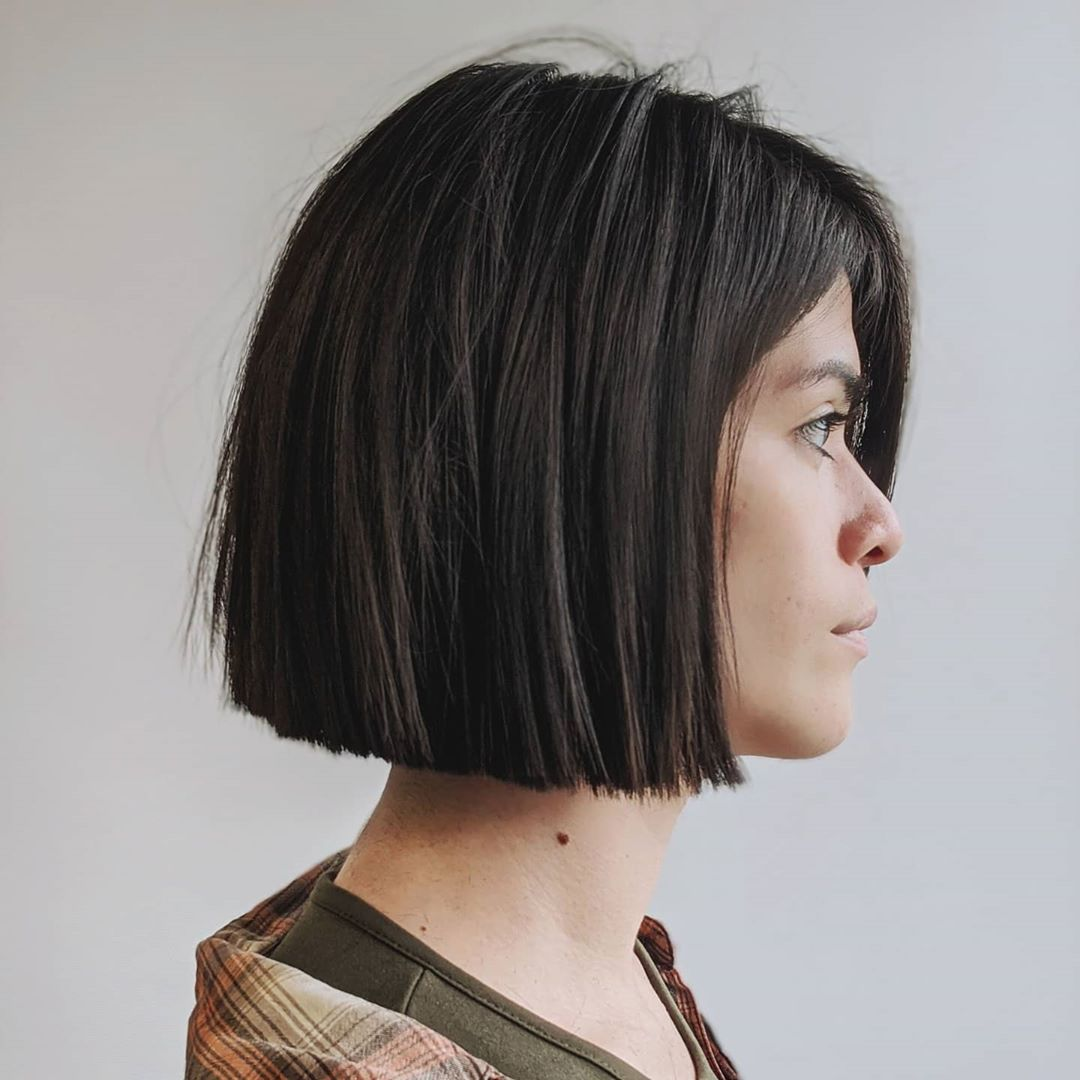 Fall 2021 Accurate Blunt Bob Haircut