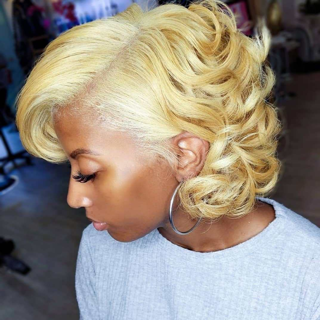 Honey Blonde Hair for Medium Brown Skin