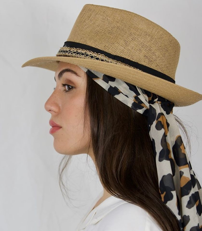 Hat and Scarf Hairstyle Trend for Fall 2021
