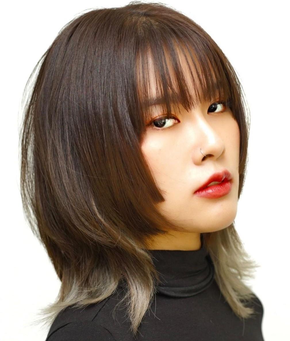 Modern Medium Hair with Bangs and Layers