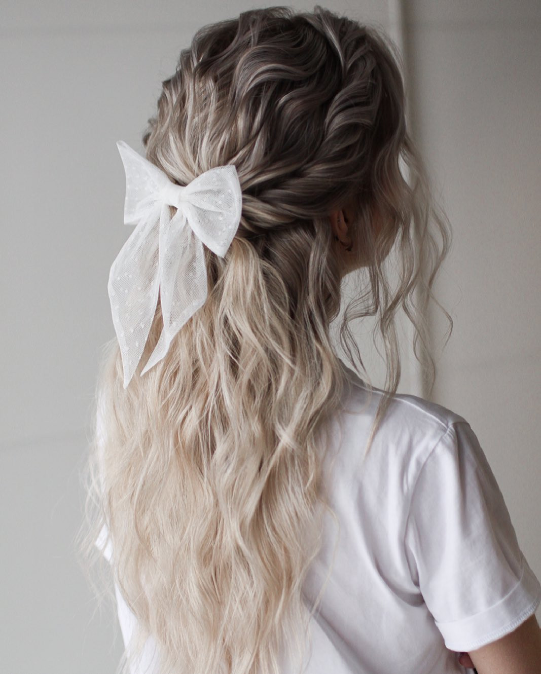 Quick and Easy Twisted Half Updo