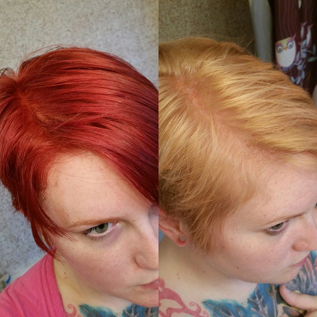 How to Remove Red Hair Dye from Hair
