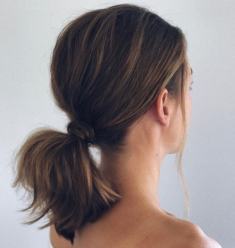 Wrap Around Ponytail for Medium Length Hair