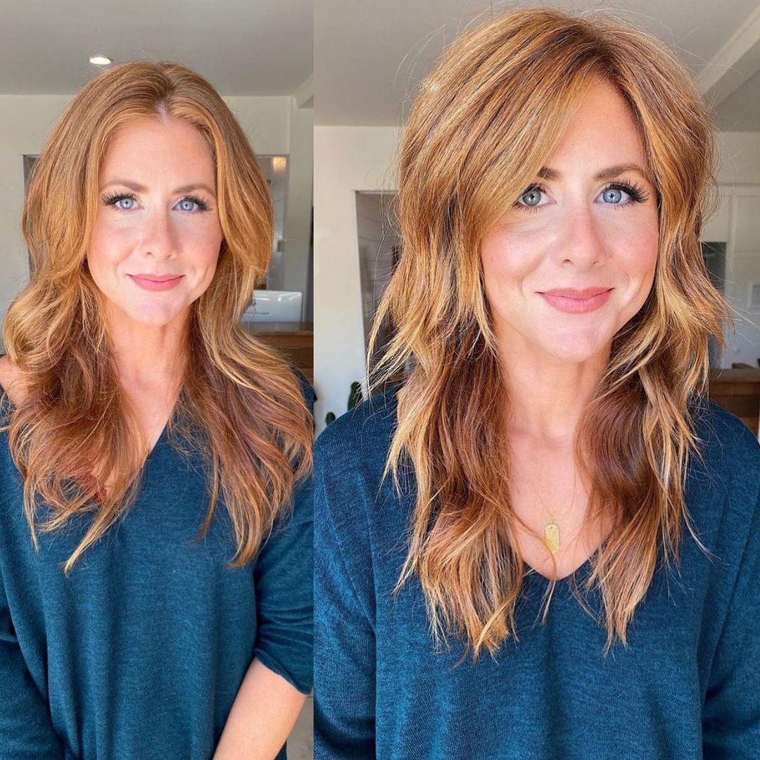 Modern Shag Cut for Long Hair