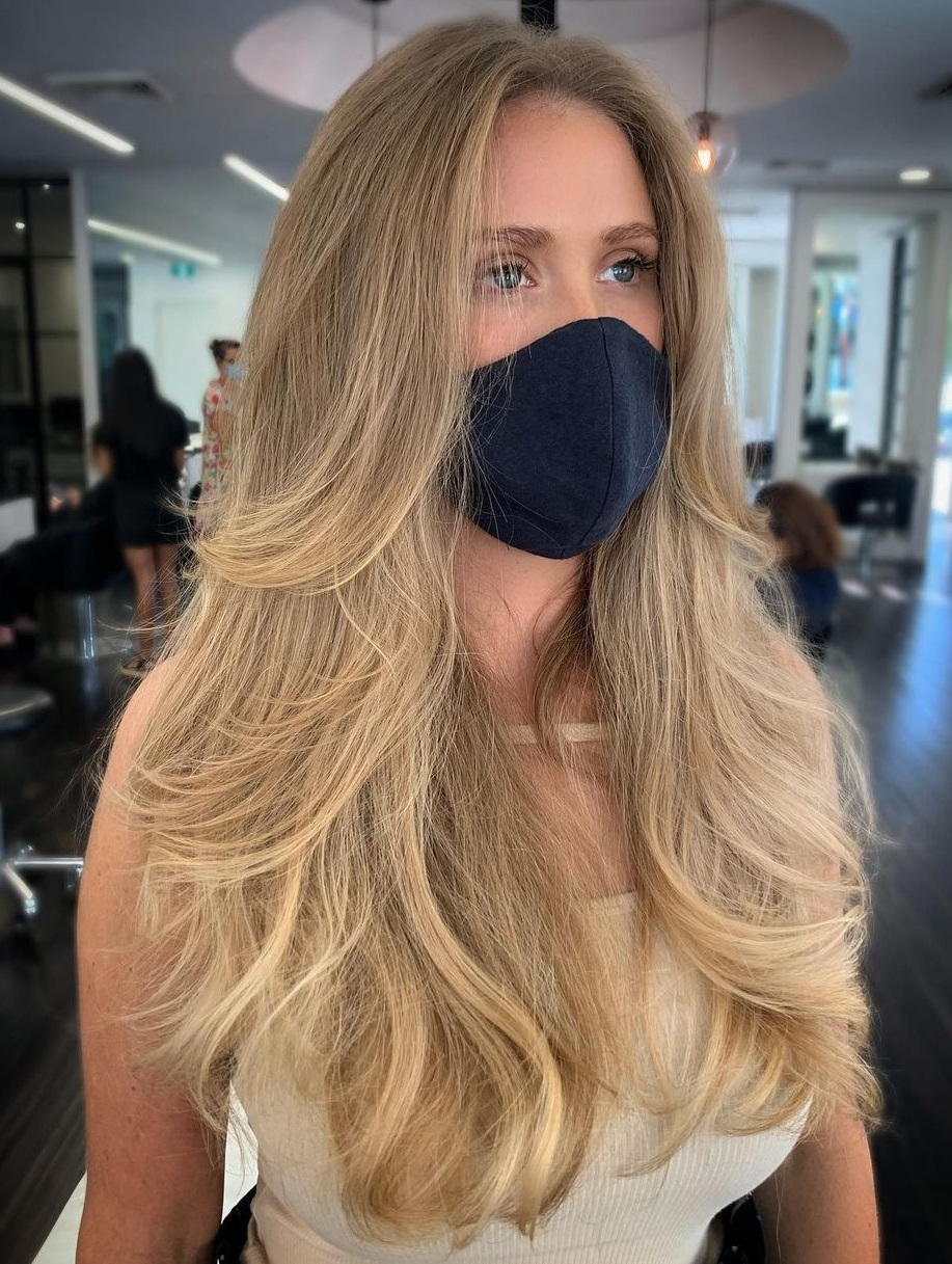 Boho Hairstyle with Layers for Long Hair