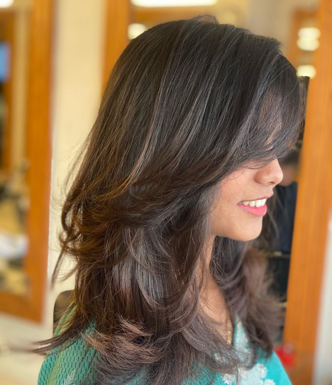 Cute Shoulder-Length Layered Hairstyle