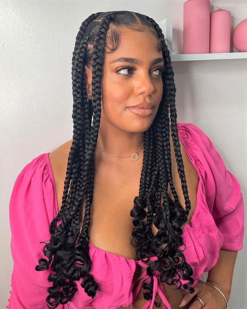 Sweet Braids with Curly Ends