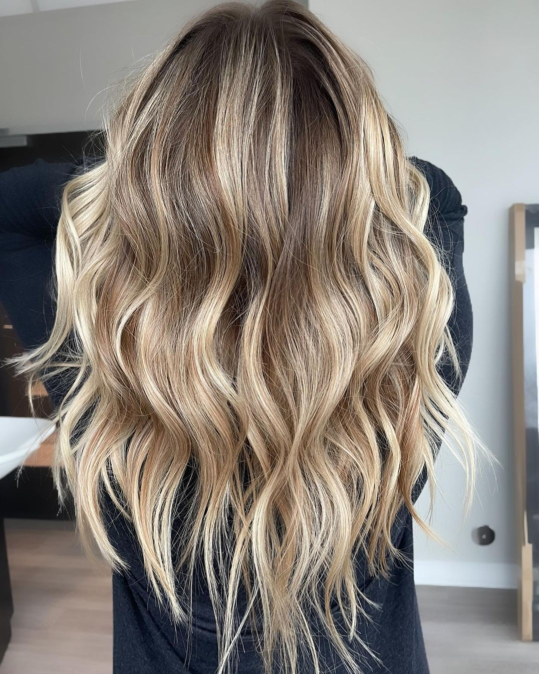 Long Wavy Dirty Blonde Hairstyle