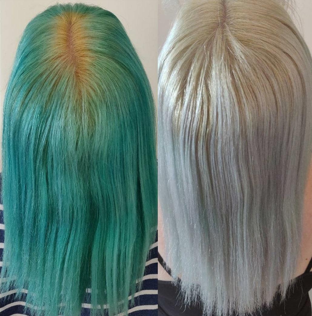 Bleach Bath for Blonde Hair