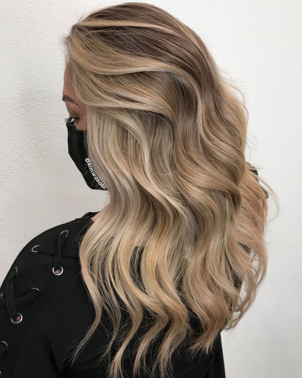 Neutral Honey Blonde Hair Color