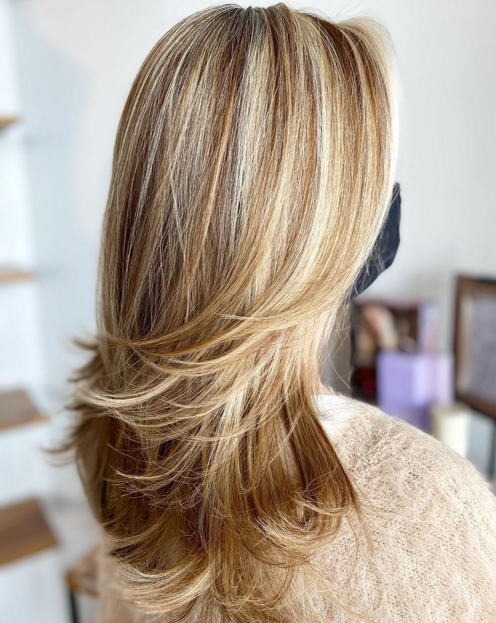 Blonde Highlights and Copper Lowlights