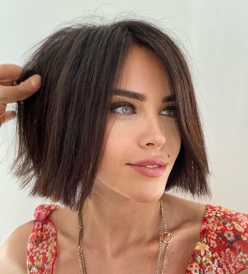 Blunt Bob for Straight Fine Hair