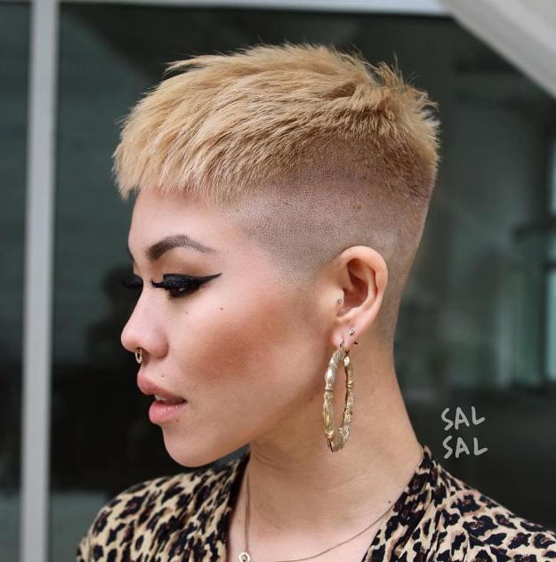 Super Short Hair Lengths Chart