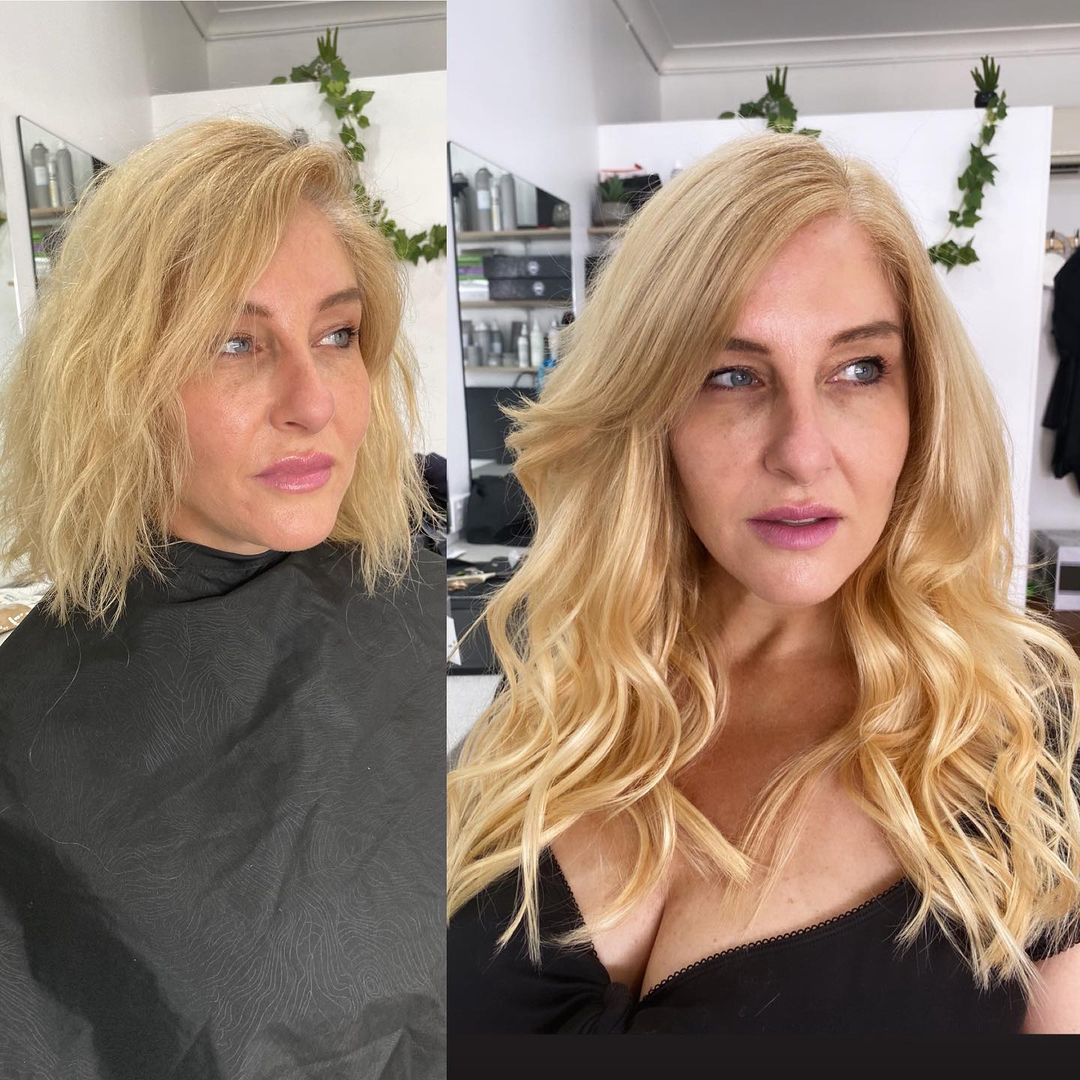 Hair Extensions for Women over 40 with Short Hair