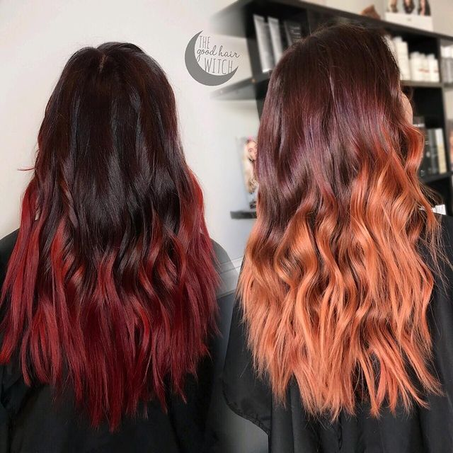 Faded Red Hair to Orange Brassy Tones - How to Fix