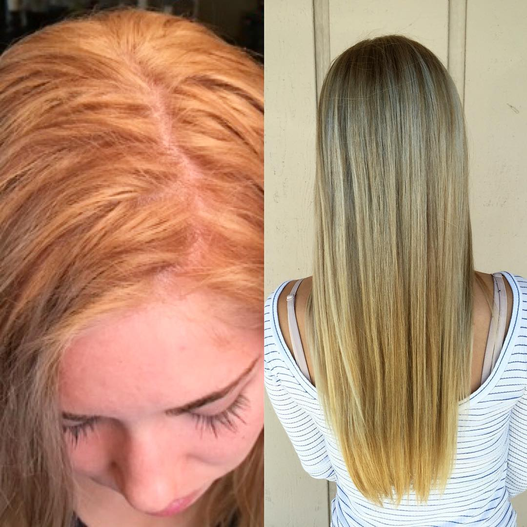 Brassy Orange Hair At-Home Treatments