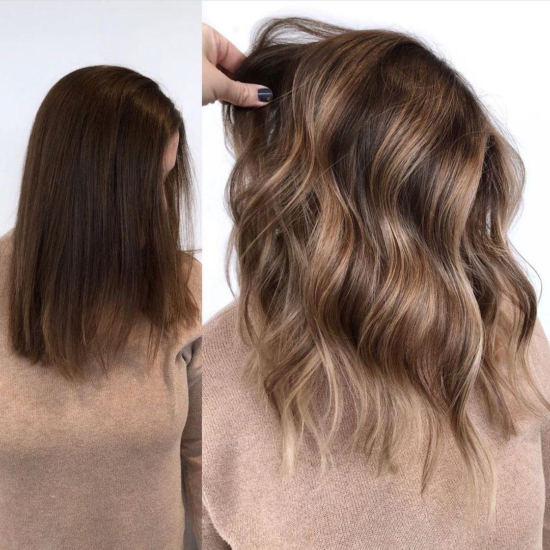 Shoulder Hair Chart