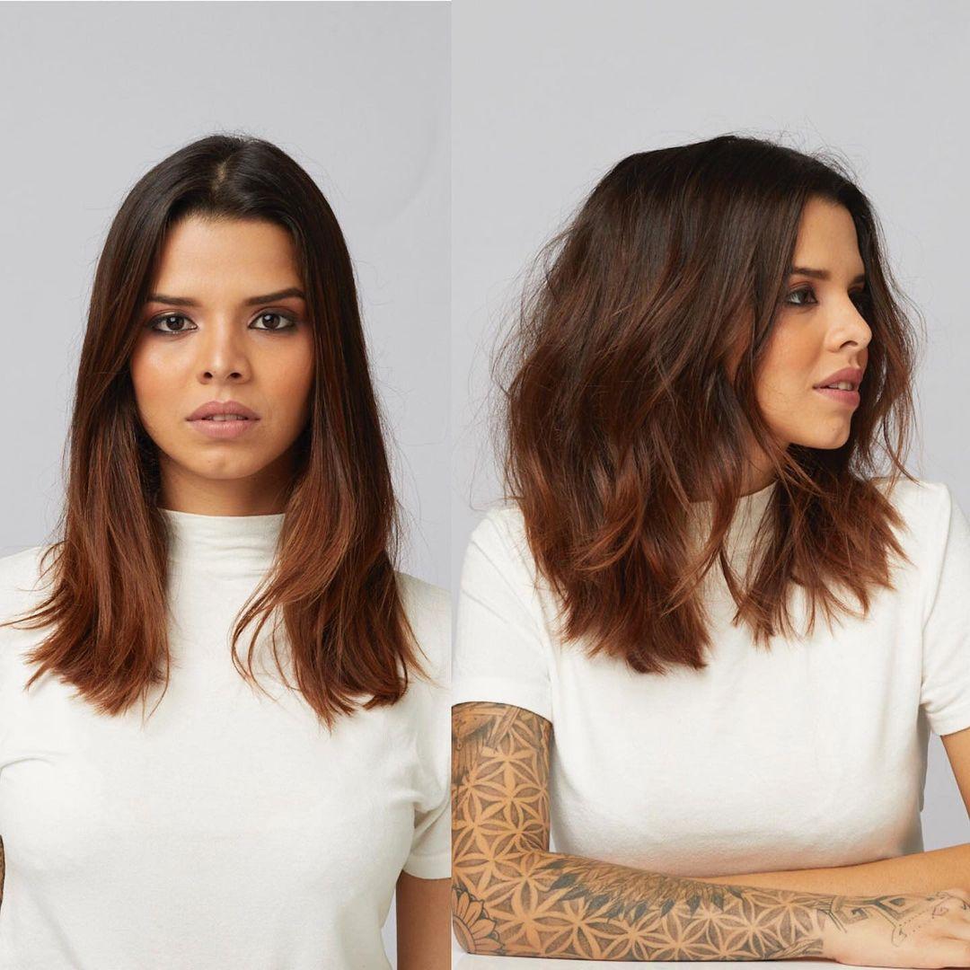 Shoulder Length Hair Chart
