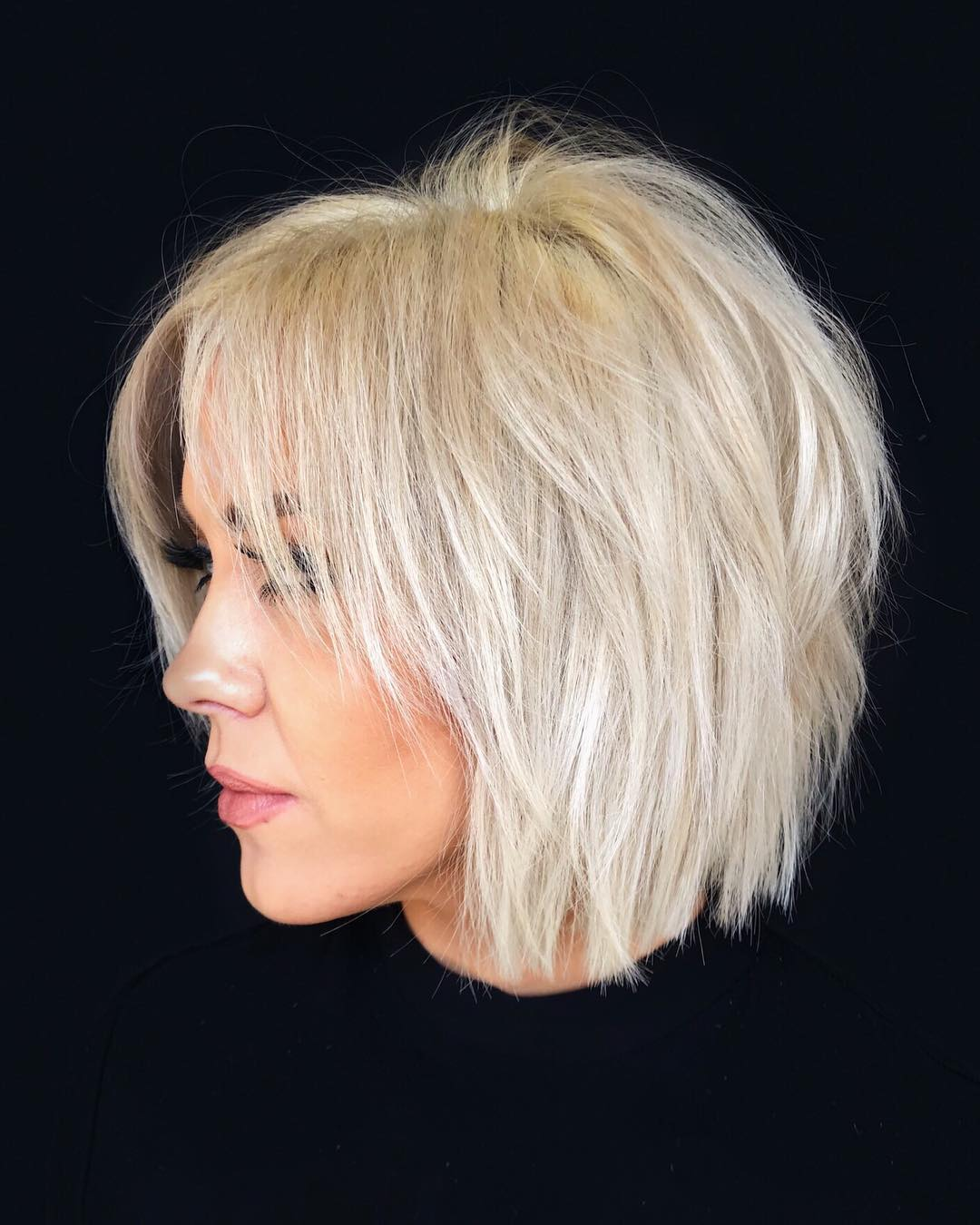 Volumizing Short Cut for Thin Hair