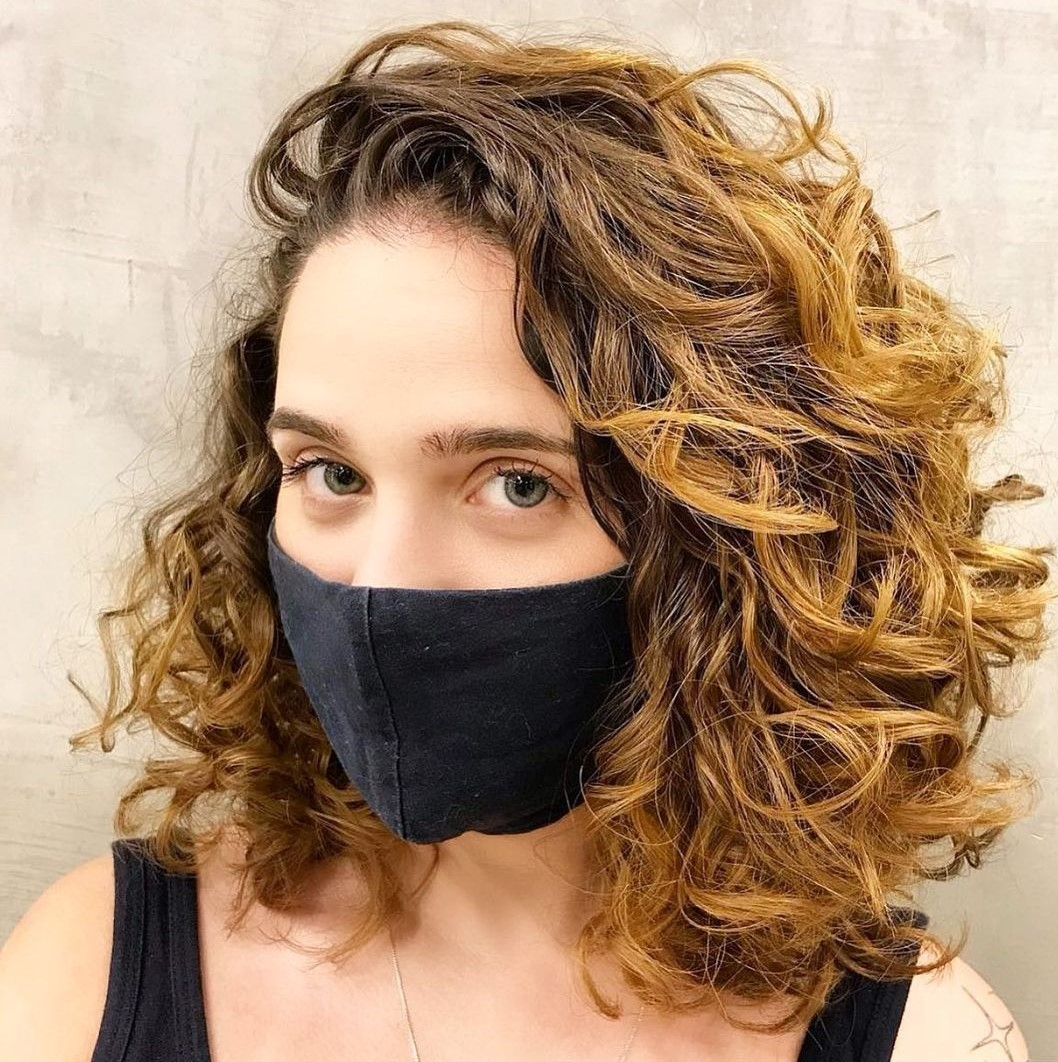 Lob Deva Cut for Wavy Curls