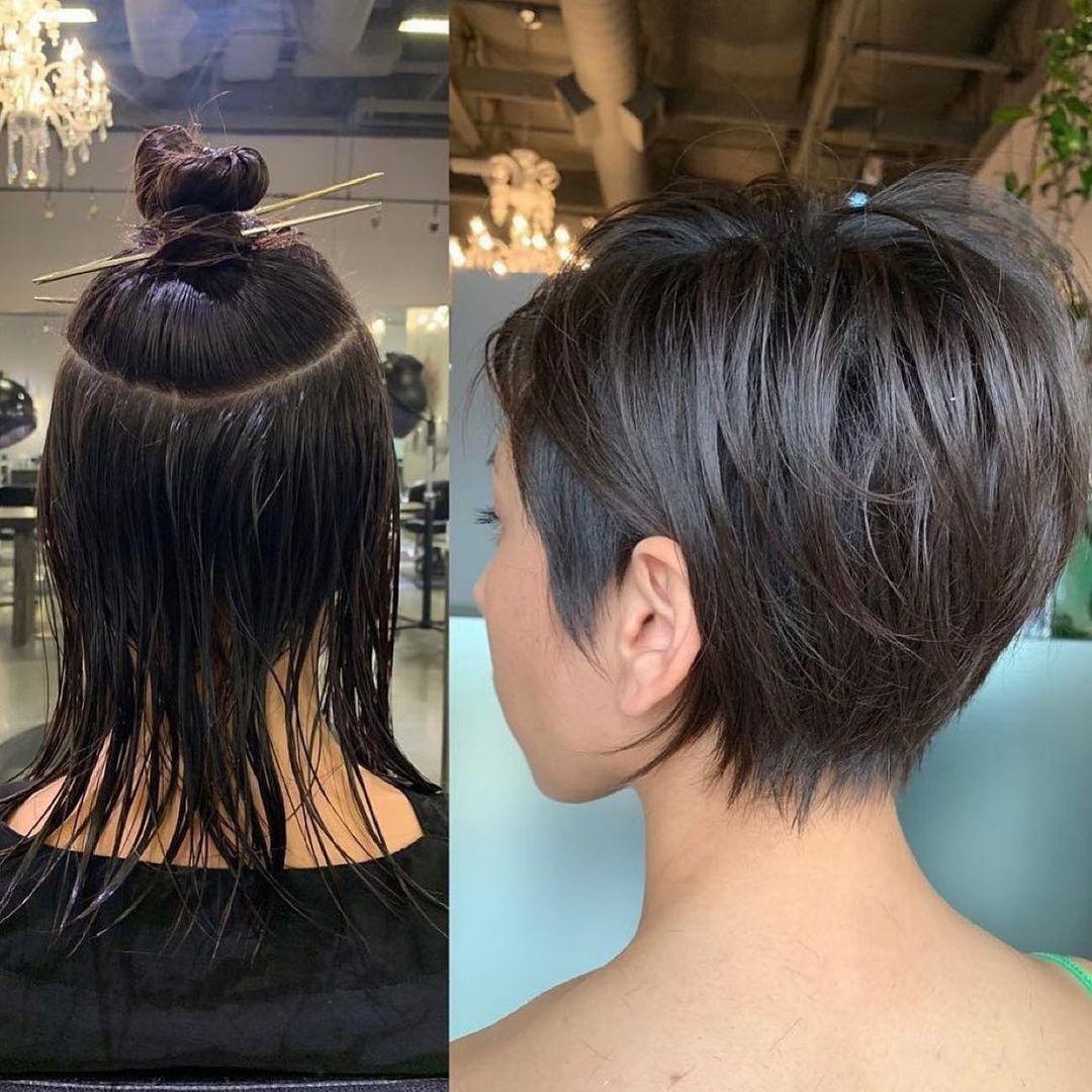 Pixie Cut for Short Fine Hair