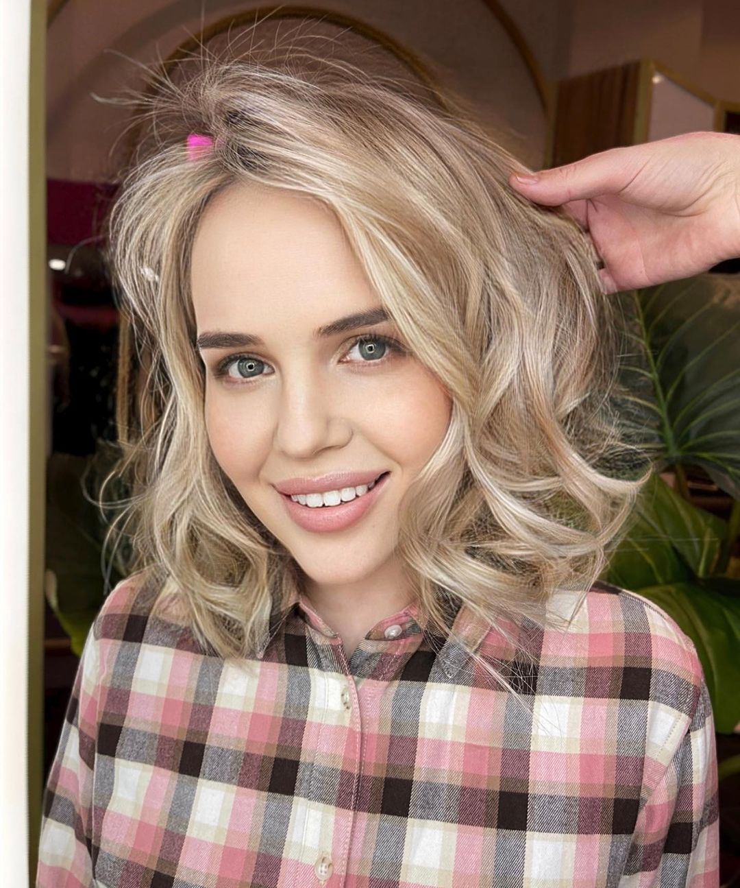 Blonde Hair Dyes for Gray Eyes
