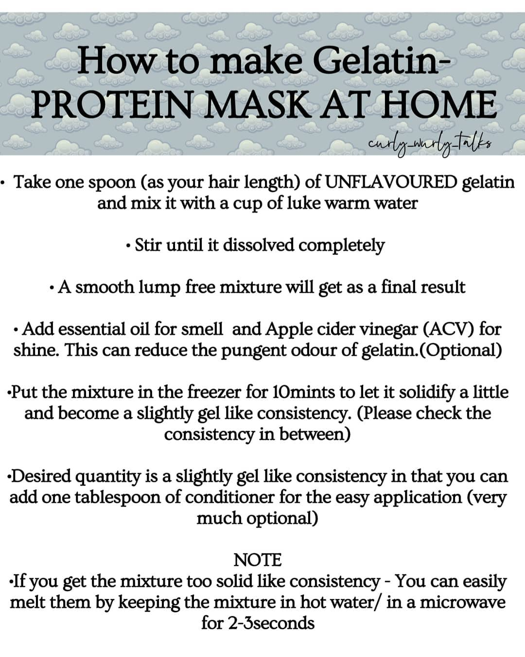 Best Homemade Protein Hair Treatments