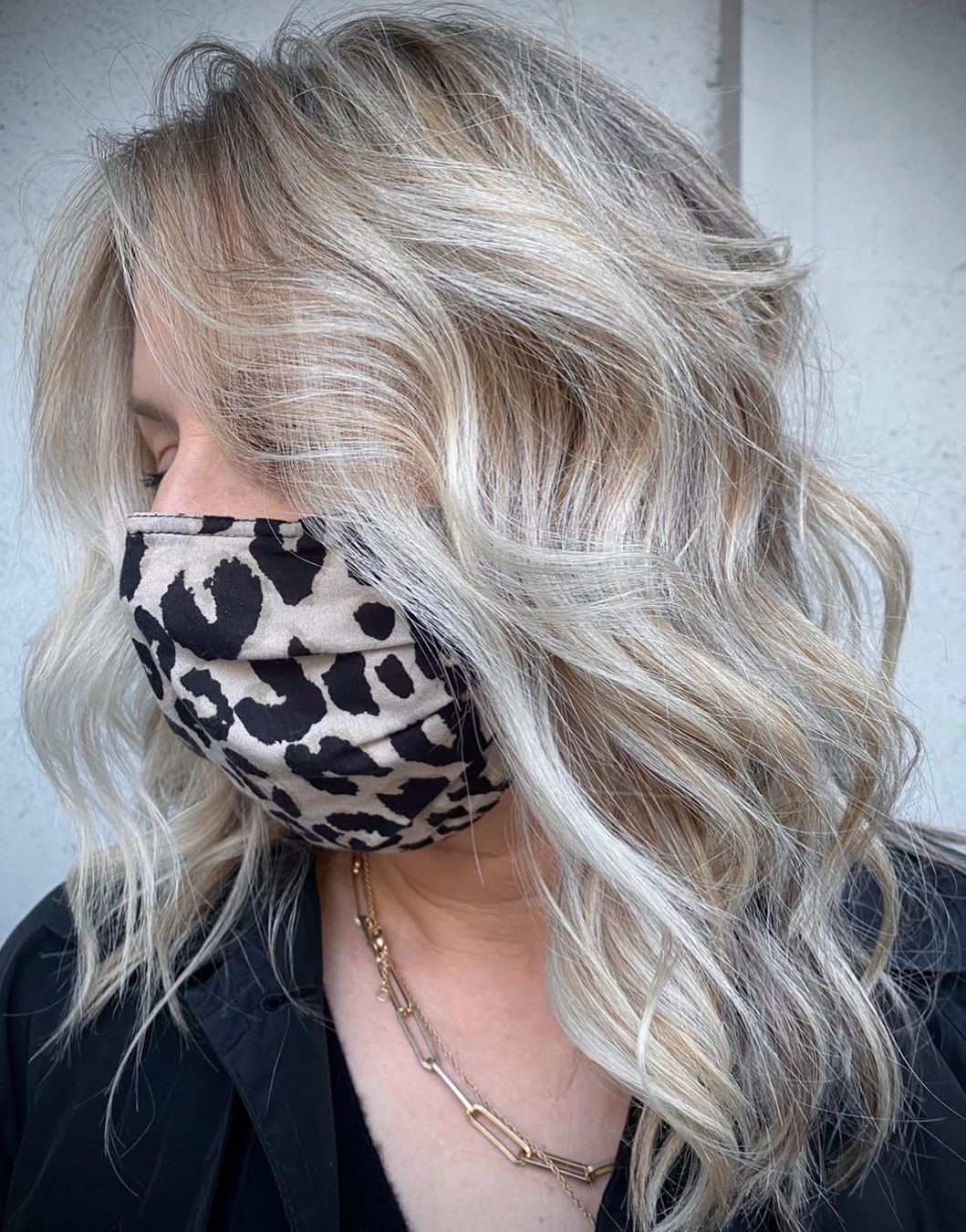 Ideas for Gray Hair with Highlights