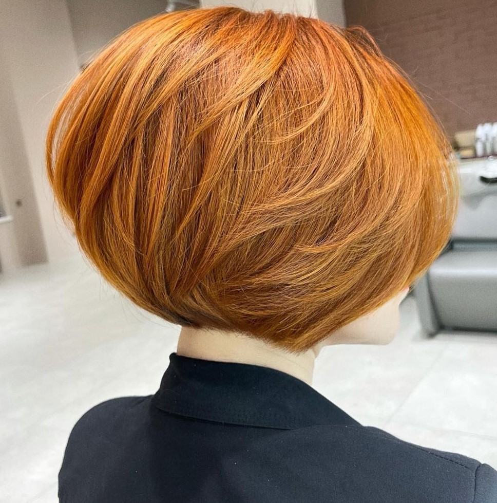 Chin-Length Bob for Round Faces