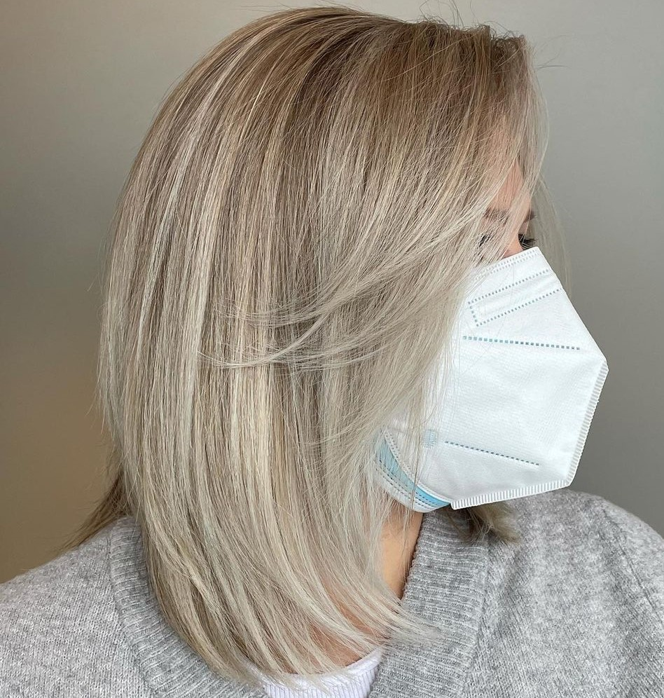 Covering Gray Hair with Highlights