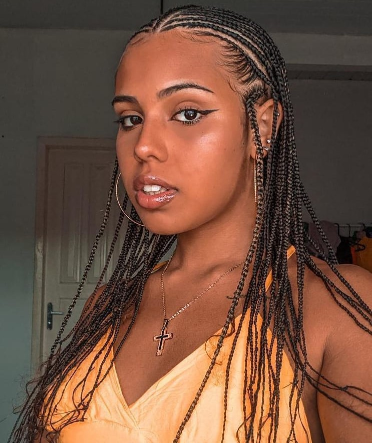 Fulani Braids without Extensions