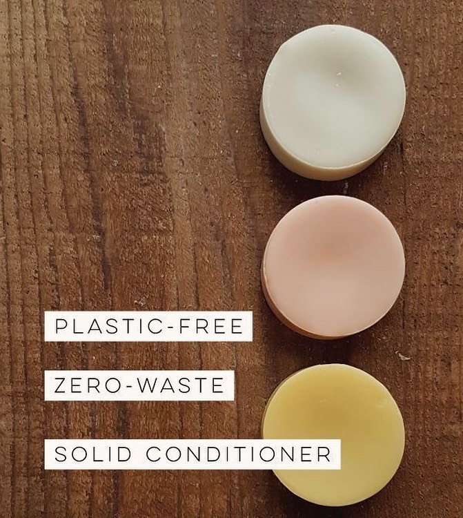 Solid Hair Conditioner for Bleach-Fried Hair