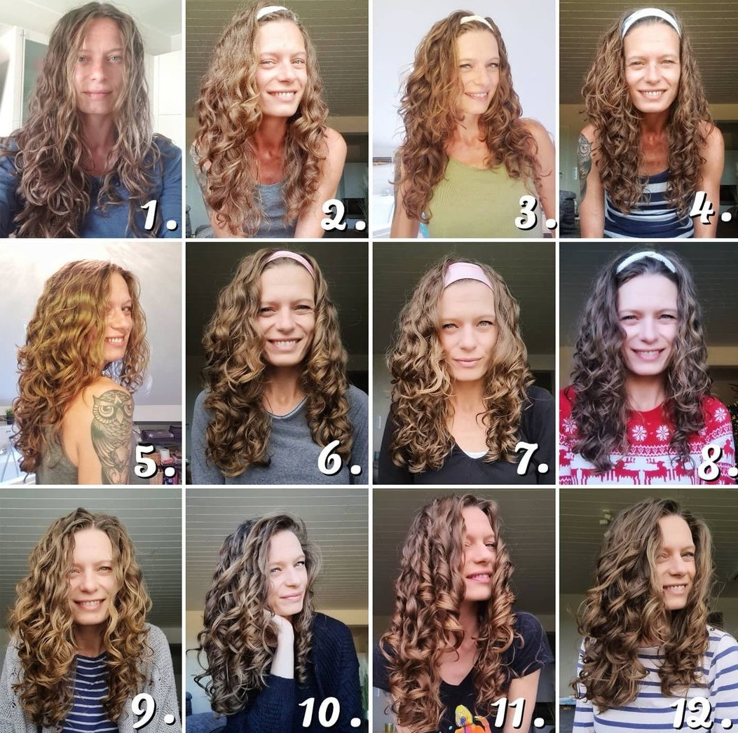 Transition to Natural Curls with Wavy Curly Hair Method