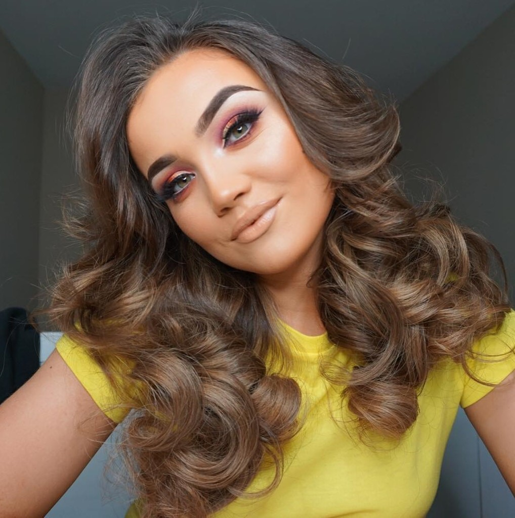 Curly Hair Tutorial with a Rotating Iron