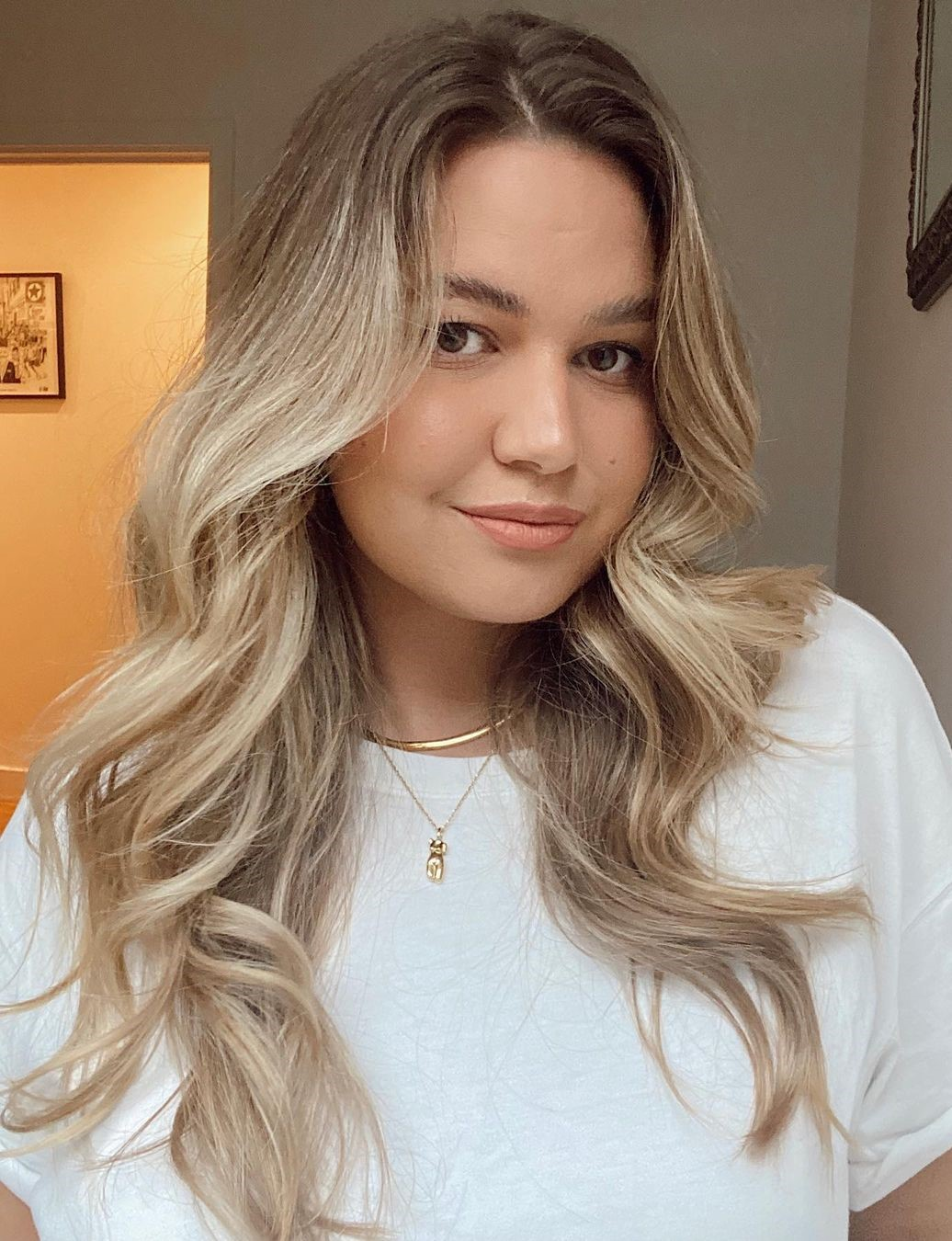 Easy Long Beach Waves Hairstyle