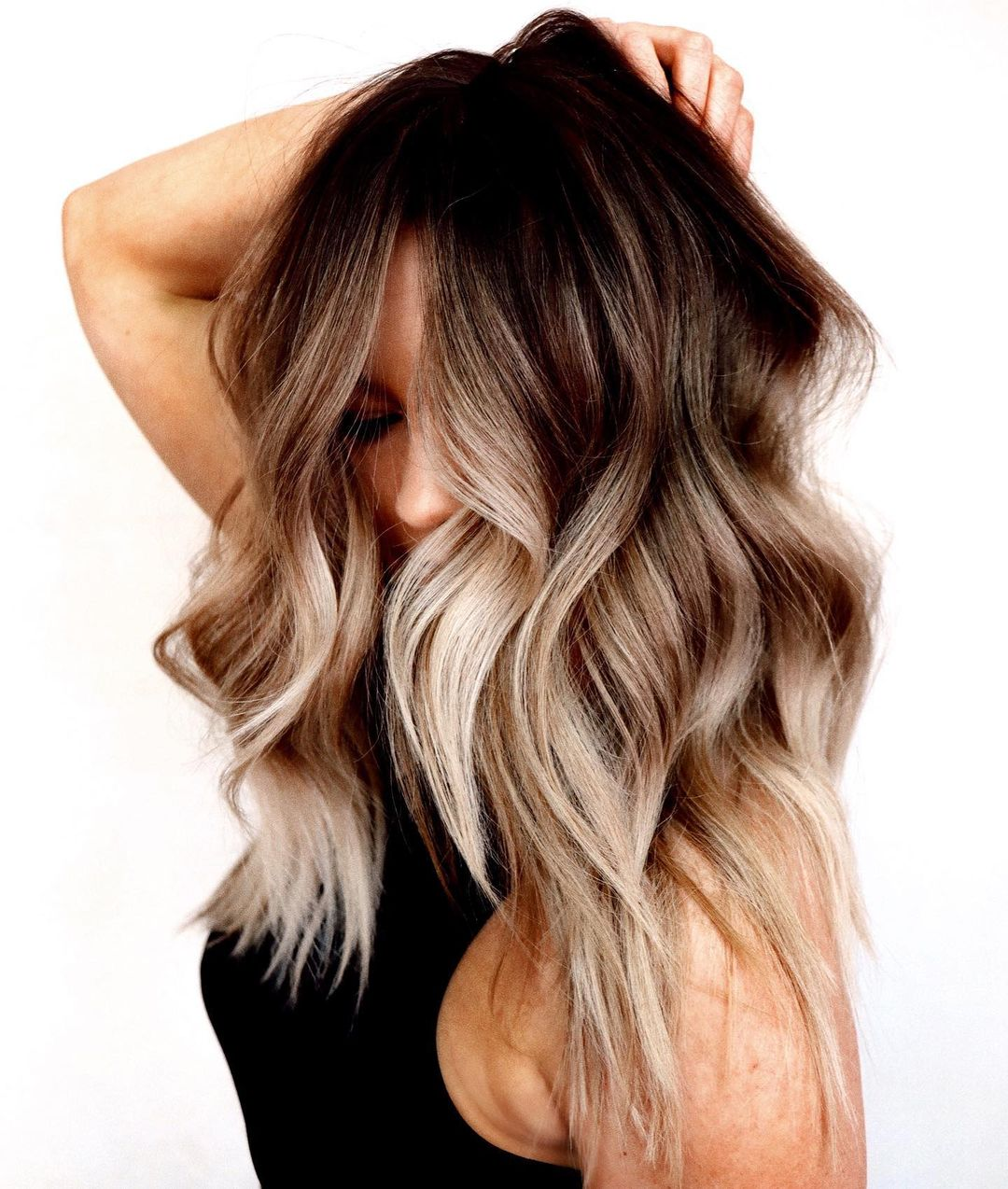 Blonde and Brunette Balayage Hair