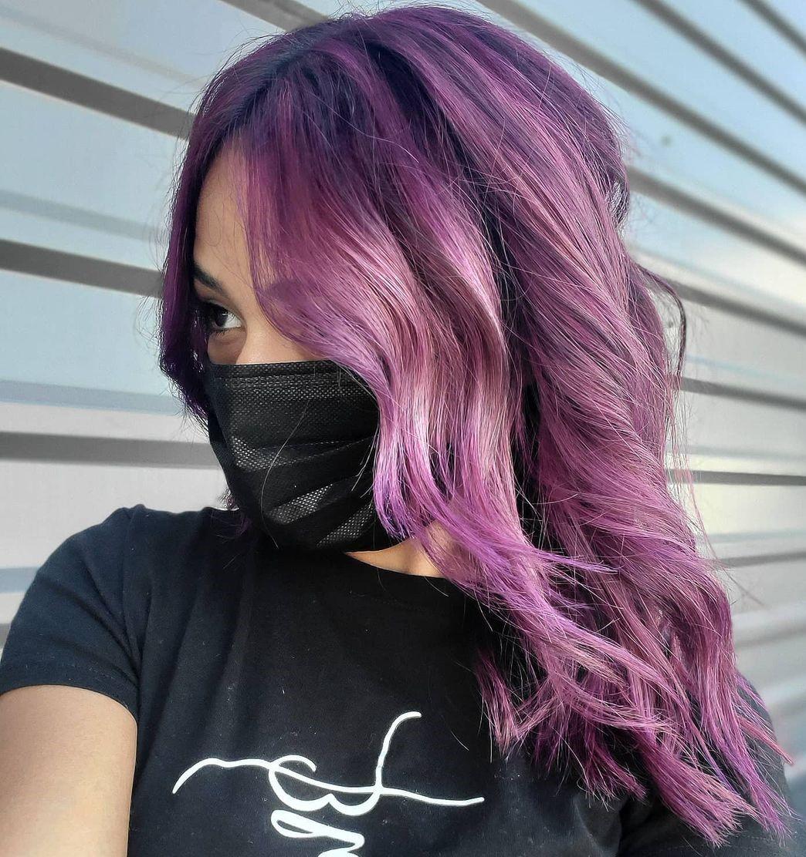 Amethyst Hair Color Idea