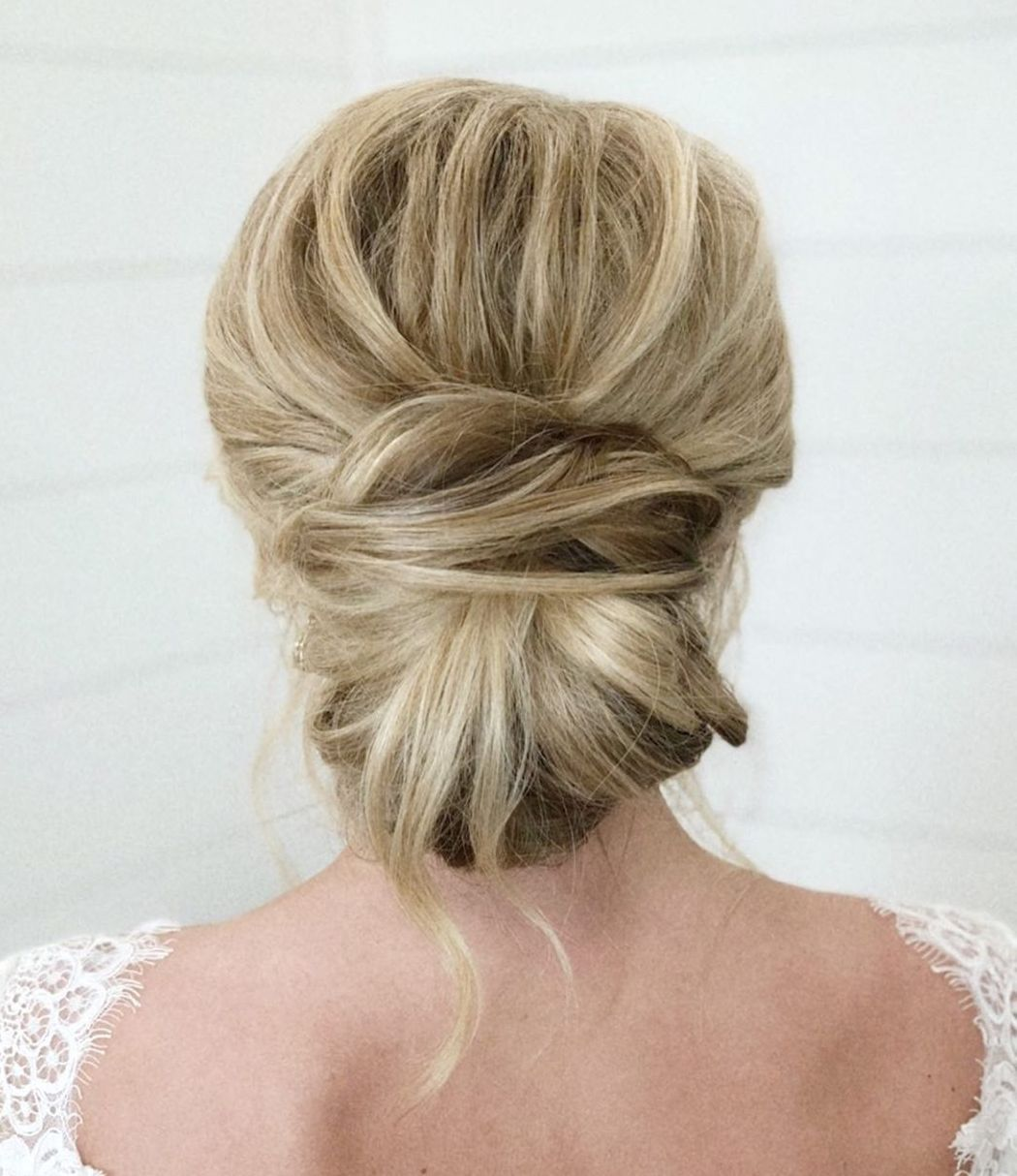 Low Bun for Thick Long Hair