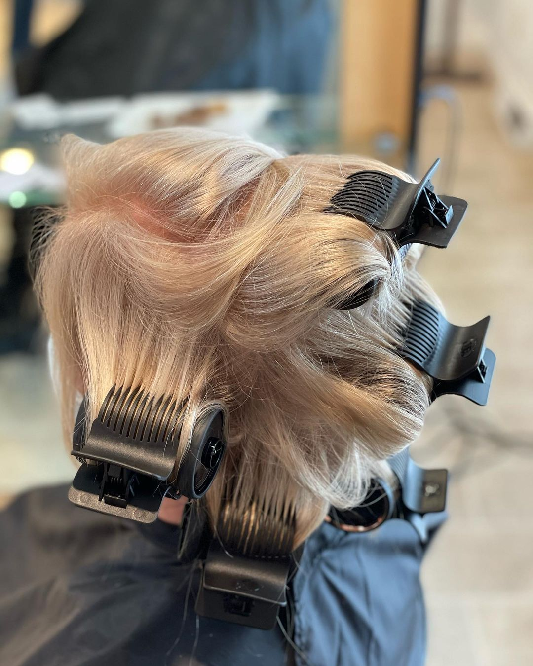 How to Get Volume in Hair with Hot Rollers