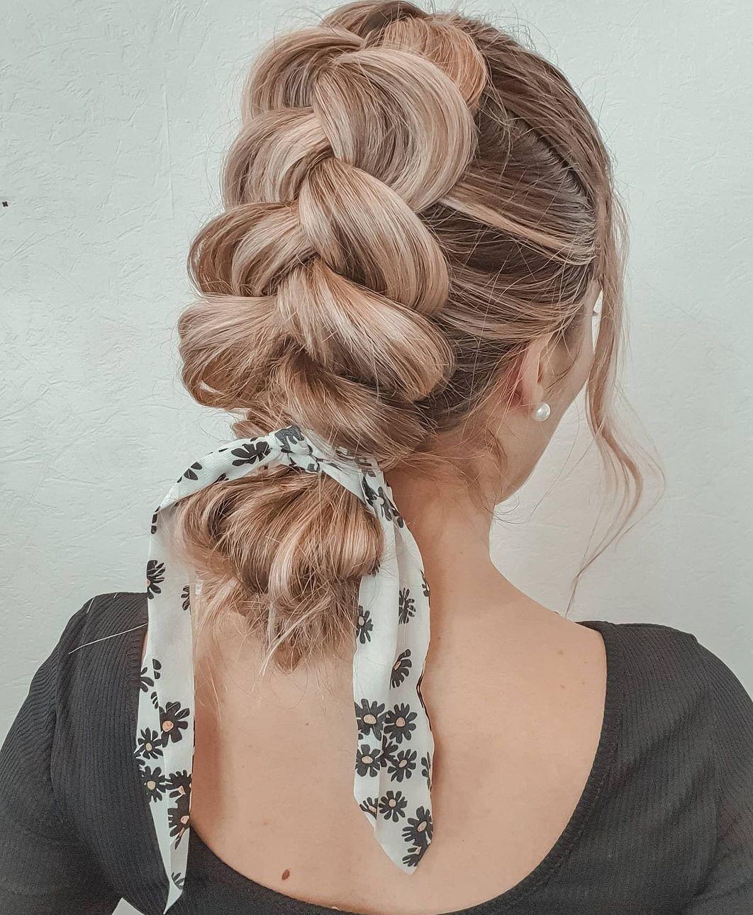 Cute Braid and Bun Ideas