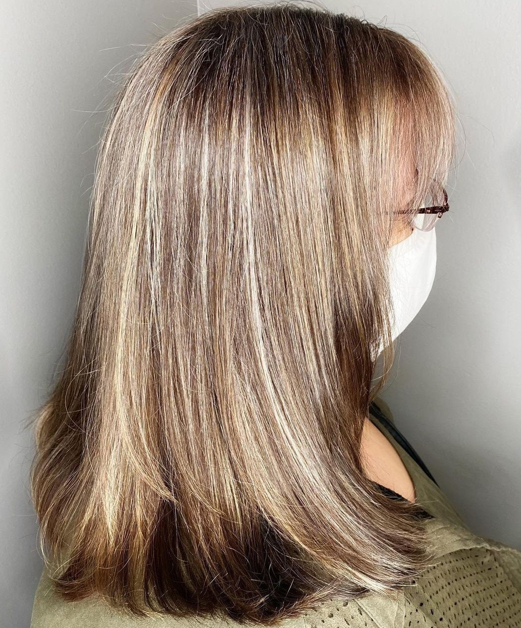 Long Hairstyle for Heavy-Set Women
