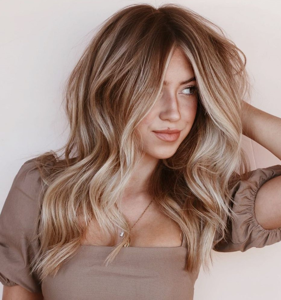 Lots of Highlights for Light Brown Hair
