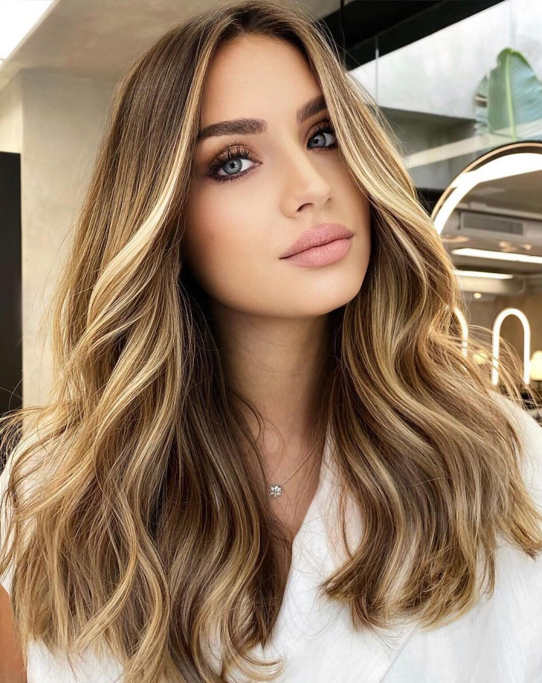 Blonde Money Pieces for Light Brown Hair