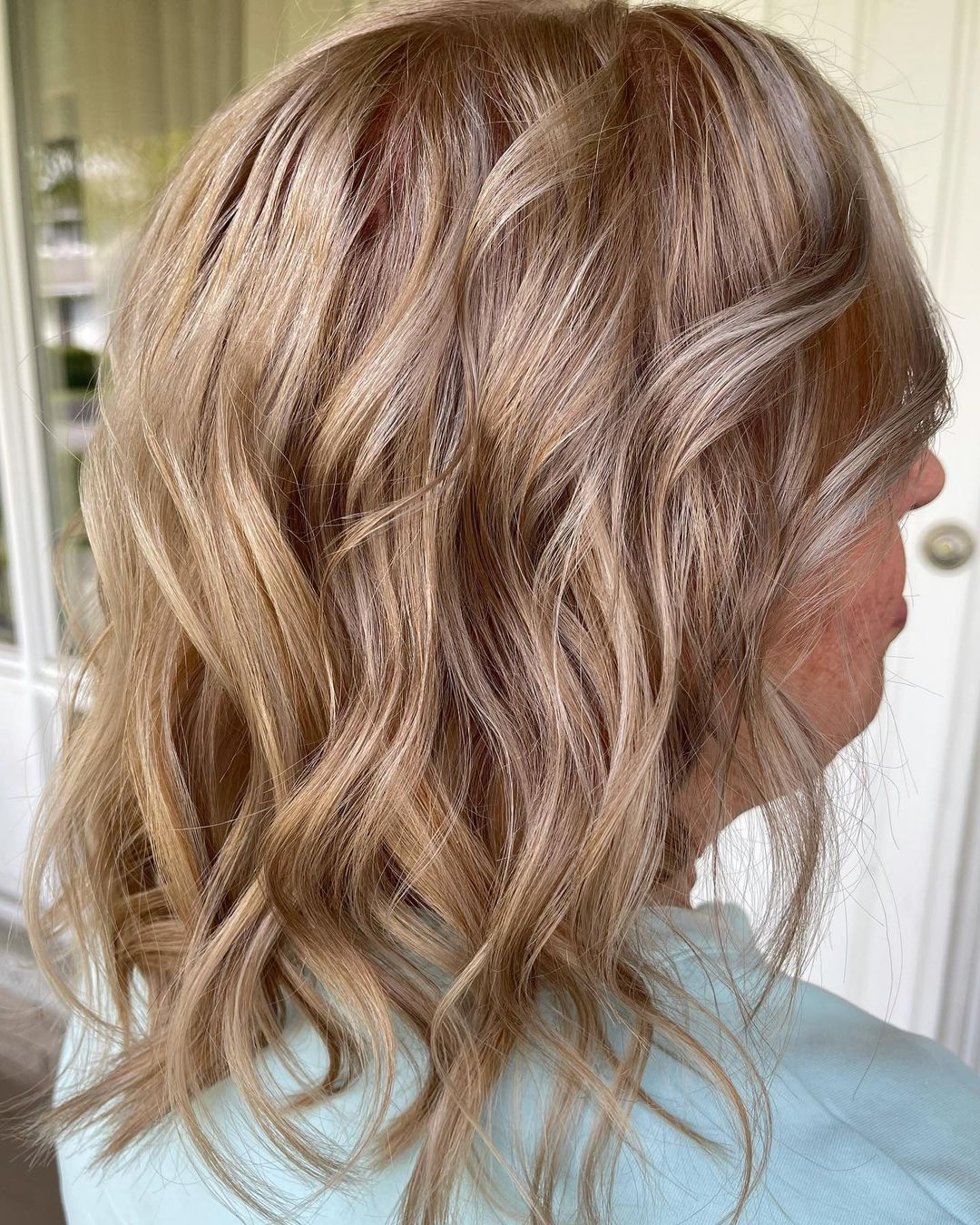 Medium-Length Hair for Over 50 and Overweight