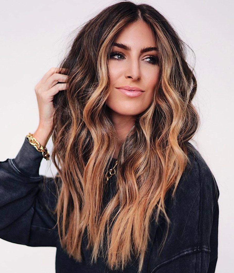 Brunette and Blonde Hair Color Trend