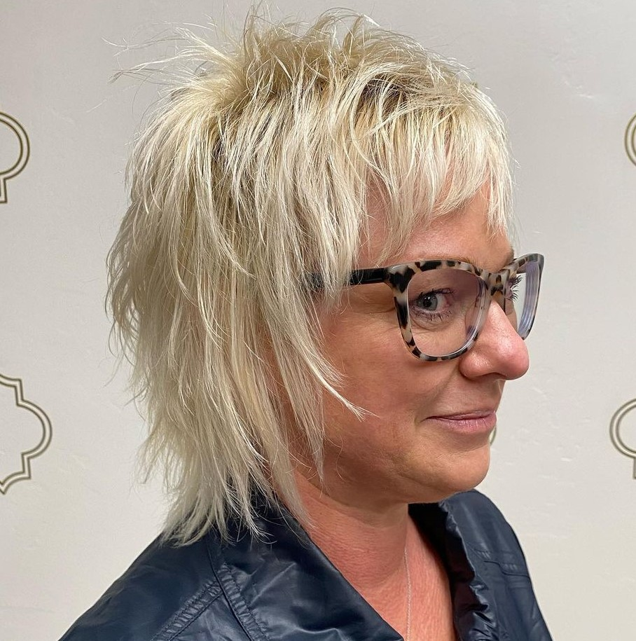 50+ Shaggy Crop for Women with Fine Hair