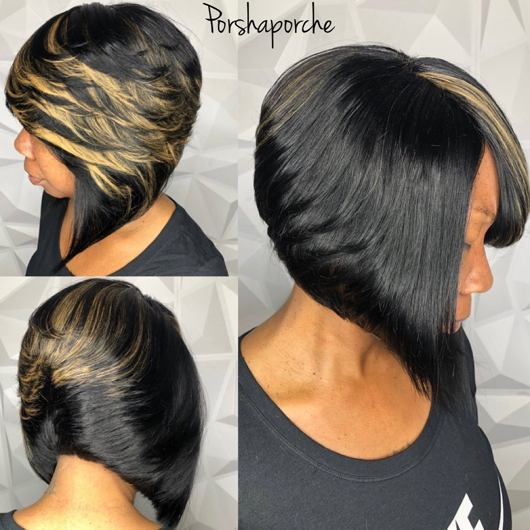 Flowy Inverted Bob Weave